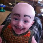 海外で話題!赤ちゃんの凛々しい眉毛やヒゲ25選